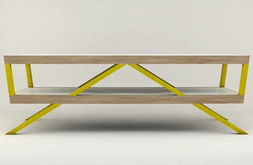 Kitara Coffee Table by Max Ptk