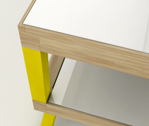 Kitara Coffee Table by Max Ptk in main home furnishings  Category