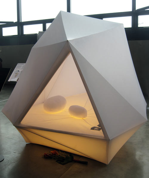 LYHTY Lighted Indoor/Outdoor Tent by Erkko Aarti ... & LYHTY Lighted Indoor/Outdoor Tent by Erkko Aarti - Design Milk