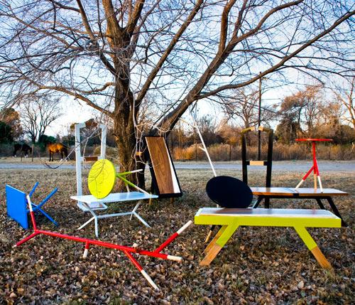 Mestizodizenio Argentinian Design: Punchy Geometric Furniture