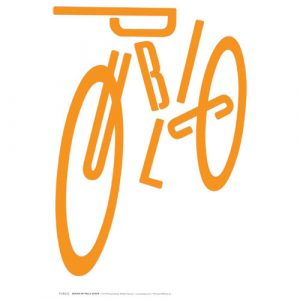 PUBLIC WORKS, a Poster Exhibition about Bikes by PUBLIC, Hosted by FLOS