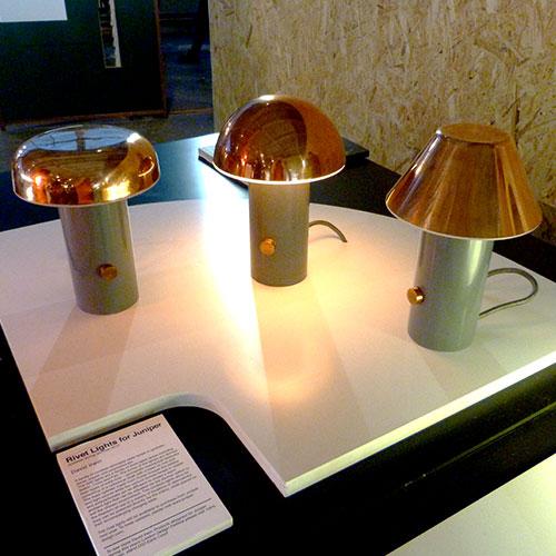 Rivet Lights Designers in Residence designjunction