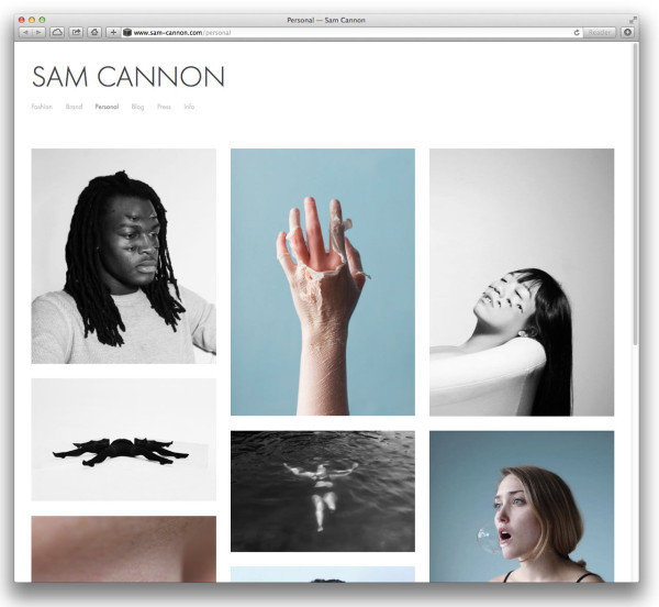 10 Beautiful Modern Websites Made with Squarespace - Design Milk