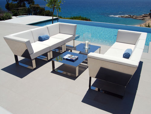 Charming Modern Outdoor Patio Furniture: Nautico By Ubica