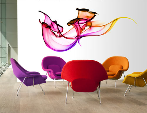 Wallflower Photographic Wall Decals - Design Milk
