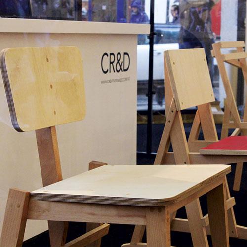 X3 workshop Sam Weller's Chair in foreground