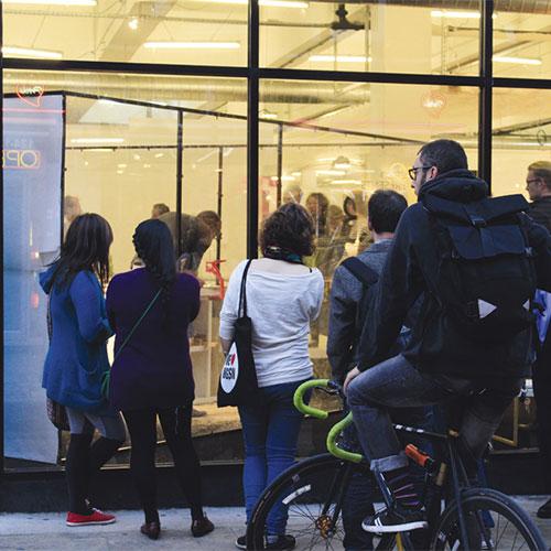 X3 workshop crowds