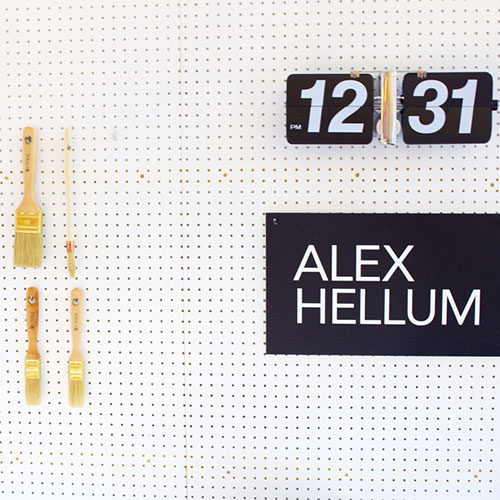 X3 workshop Alex Hellum