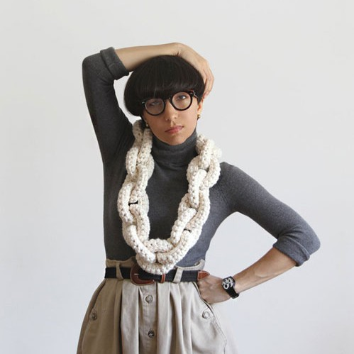 Yokoo's Chunky Crochet Pieces: Revisited