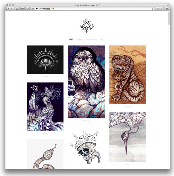 ZSO-squarespace-website