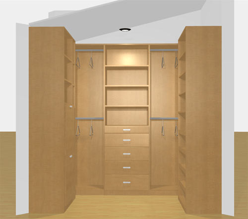 Our Closet Factory Rendering