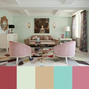 Colorful Interior Design by Fawn Galli