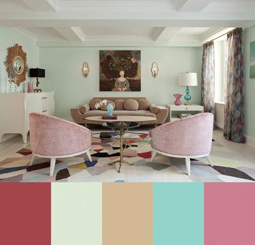 Colorful Interior Design by Fawn Galli