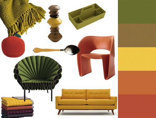 Apples and Honey   A Fall Harvest Color Palette in news events home furnishings  Category