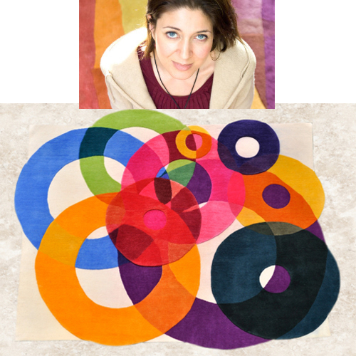 Sonya Winner's Bubble Outline Rug