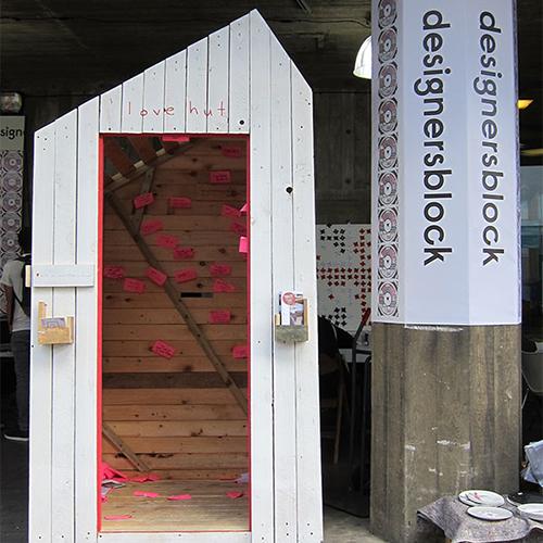 designersblock love hut