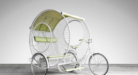 The Rickshaw Gets Redesigned by Kenneth Cobonpue