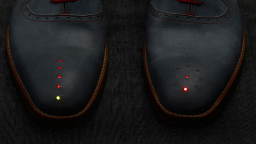 GPS Shoes Take You Where You Want to Go by Dominic Wilcox in technology style fashion main  Category