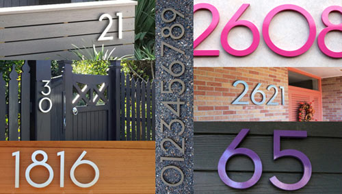 Modern Dwell Numbers Giveaway