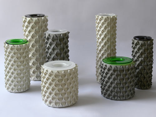Concrete Palmas Vases Look Like Geometric Pineapples in home furnishings  Category