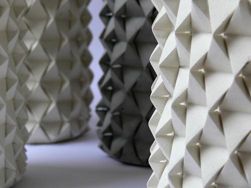 Concrete Palmas Vases Look Like Geometric Pineapples