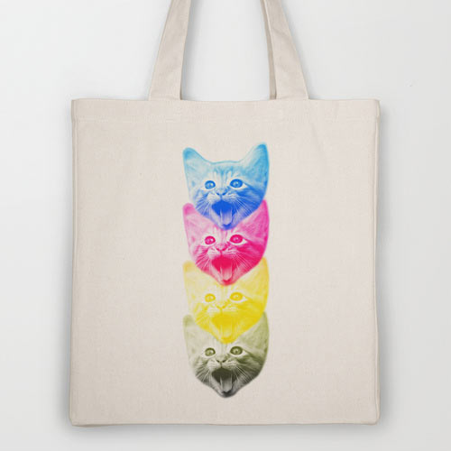 Fresh From The Dairy: Artist-Designed Tote Bags