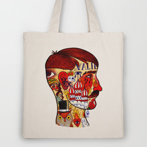 Fresh From The Dairy: Artist Designed Tote Bags in style fashion main art  Category