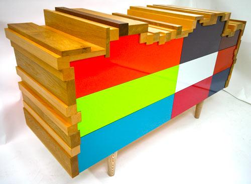 Piecing Together Furniture Like Building Blocks: Sam Scott