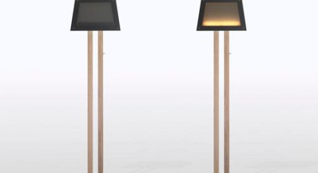 Super Thin Silhouette Lamp by Diogo Frias