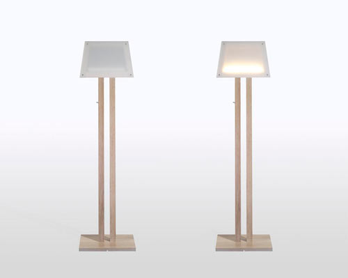 Super Thin Silhouette Lamp by Diogo Frias in main home furnishings  Category