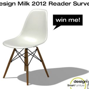 Design Milk 2012 Reader Survey: Win an Eames Chair from Smart Furniture