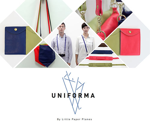Uniforma by Little Paper Planes in style fashion main  Category