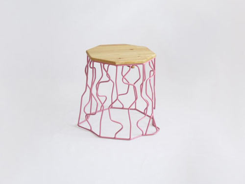 wired-stump-peter-jakubik-outdoor-furniture-pink