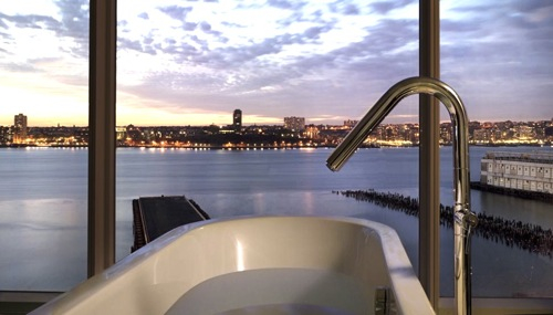 12-tubs-The Standard Hotel, New York City