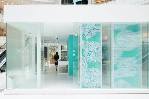 Tiffany & Co. Diamond Pavilion by 2×4
