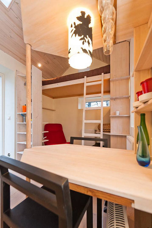 Swedens Smallest Apartment in architecture  Category