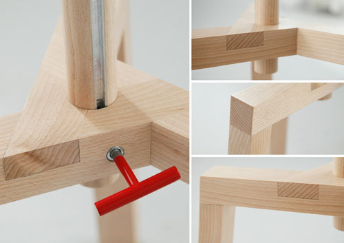 Adjustable Multifunctional Furniture by Agnieszka Mazur in home furnishings  Category