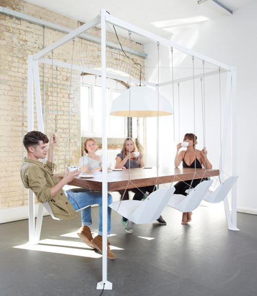 Swing Table by Christopher Duffy for Duffy London in home furnishings  Category