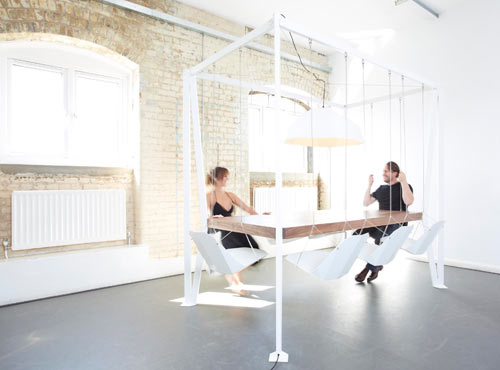 Swing Table swing tablechristopher duffy for duffy london - design milk