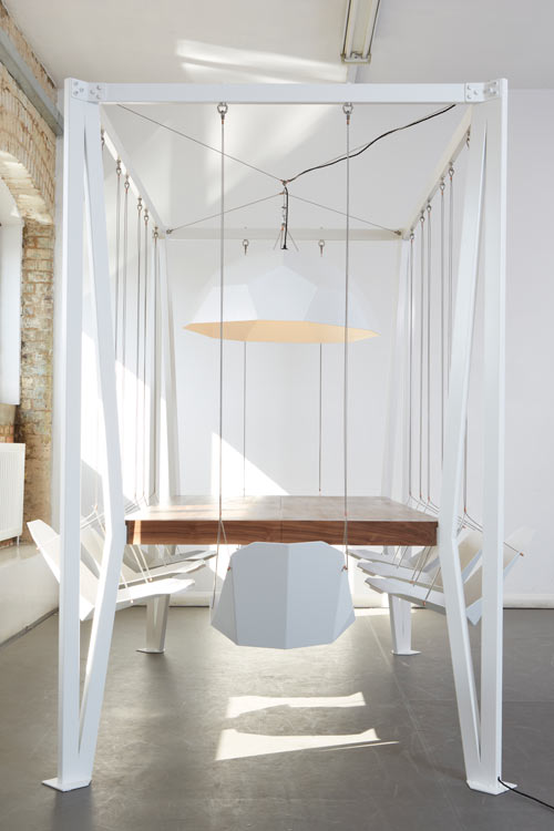 Swing Table by Christopher Duffy for Duffy London in main home furnishings  Category