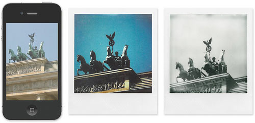 Impossible Instant Lab: Turn iPhone Images into Real Photos in technology style fashion art  Category