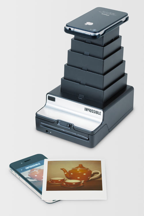 Impossible Instant Lab: Turn iPhone Images into Real Photos in technology style fashion main art  Category