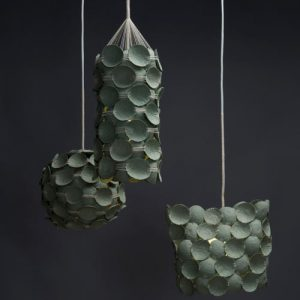 Recycled Pendant Lamps by Kelly Caruso