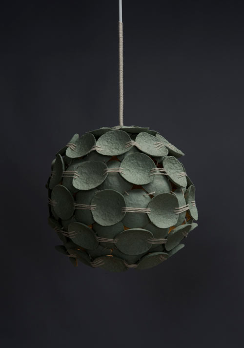 Recycled Pendant Lamps by Kelly Caruso in home furnishings  Category
