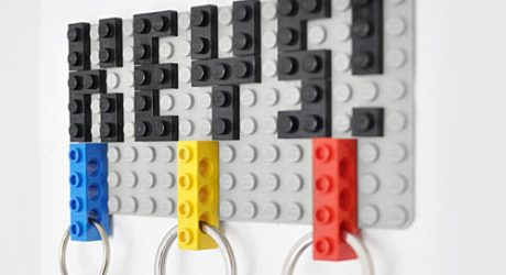 LEGO DIY Key Hanger by Felix Grauer