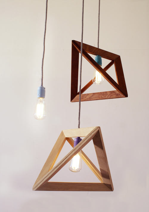 Lampframe Pendant Lamp by Herr Mandel in main home furnishings  Category