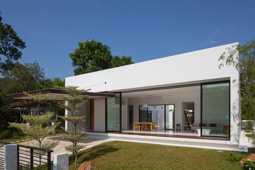 Mandai Courtyard House by Atelier M + A