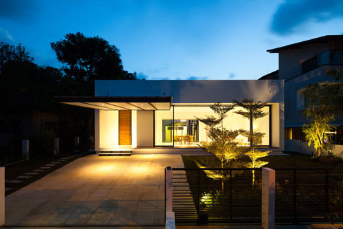 Mandai Courtyard House by Atelier M + A in architecture  Category
