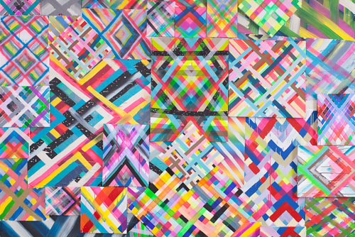 Colorful Canvases by Maya Hayuk