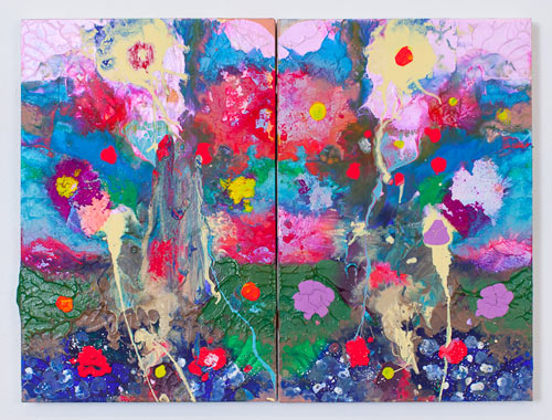 Colorful Canvases by Maya Hayuk in main art  Category